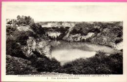 Commission Des Ardoisières D´Angers - (Anciennement Larivière Er Cie) -  Une Ancienne Ardoisière - Angers