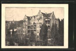 AK Baden-Baden, Blick Zum Sanatorium Quisisana - Baden-Baden