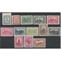 ES802STV-LFT4023.España Spain Espagne JUNTA DE LA DEFENSA 1936/37 (Ed 802/13**).sin Charnela MUY BONITA. - 1931-50 Nuevos & Fijasellos