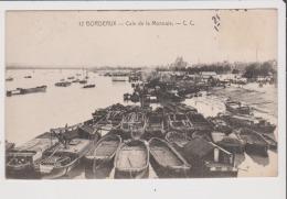CPA - BORDEAUX - Cale De La Monnaie - Bordeaux