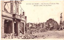 Ruines De Reims Rue Buirette La Salle Des Fetes - Reims