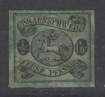 Braunschweig - 1863 - Nuovo/new MH - Cavallino - Mi N. 10 - Braunschweig