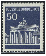 Germania - 1966 - Nuovo/new MNH - Porta Brandeburgo - Mi N. 509R - Ongebruikt
