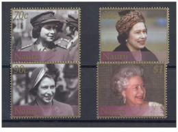 Nauru - 2002 - Nuovo/new MNH - Regina Elisabetta II - Mi N. 509/12 - Nauru