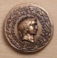 PROMO  Reproduction Monnaies Antiques Médaille Marc Antoine -83 à -30 Avant JC - Autres