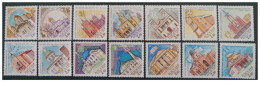 Russia - 2001 - Usato/used - Chiese - Mi N. 917/30 - 1992-.... Federation