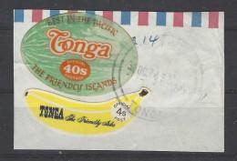 Tonga - 1972 - Usato/used - Segnatasse - Mi N. 87+97 - Tonga (1970-...)