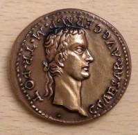PROMO  Reproduction Monnaies Antiques Médaille Caligula Et Agrippine 37 à 41 Après JC - Autres