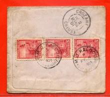 ARGENTINE LETTRE DE 1901 DE BUENOS AIRES POUR CROZANT FRANCE - Argentina