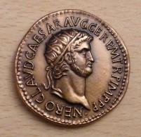 PROMO  Reproduction Monnaies Antiques Médaille Néron 54 à 68 Après JC - Autres