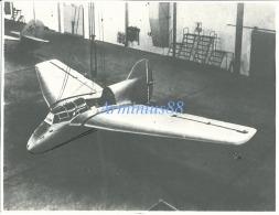 Luftwaffe - DFS 194 - Avion Expérimental à Propulsion Par Fusée - Projet D'Alexander Lippisch à L'usine Messerschmitt - Aviation