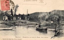 63Cco  38 Charavines Les Bords Du Canal - France