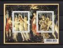 France 2010.Feuillet .Sandro Botticelli - Blocs & Feuillets