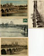 03 - Moulins - Pont Régemortes N°III - Lot De 9 Cartes. - Moulins