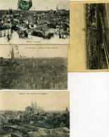 03 - Moulins - Vue Générale N°I - Lot De 10 Cartes. - Moulins