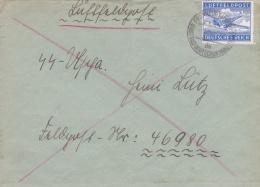 SS Feldpost WW2: Airmail To 3. Schwadron Radfahr-Aufklarungs-Abteilung SS-Kavallerie-Division FP 46980 P/m 13.10.1942 - - Militaria