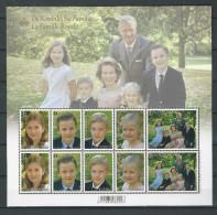Belgique: F4569/73 **   La Famille Royale - Blocks & Sheetlets 1962-....