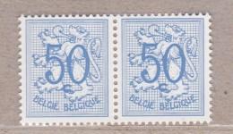 1960 R11a** Postfris Zonder Scharnier.Horinzontaal Paar.Heraldieke Leeuw. - Franqueo