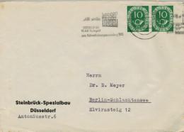 "BUSTA CON  "" TARGHETTA""   ""WERBESTEMPEL"" GERMANIA PER  BERLIN-SCHLACHTENSEE   (VIAGGIATA) - [7] Federal Republic"