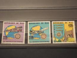 MALI - P.A. 1980  ROTARY 3 Valori - NUOVI(++) - Mali (1959-...)