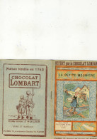Petit Livre Publicitaire  Enfant 10x16.5(chocolat Lombart)la Petite Meuniere (b Vieux Papiers) - Publicités