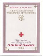 CARNET CROIX ROUGE  ANNEE 1958 - N° 2007 - NEUF - LIRE DESCRIPTION - Red Cross