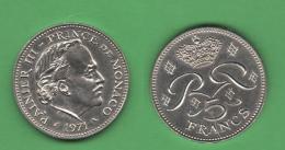 Monaco 5 Francs 1971  Ranieri III° - Monaco
