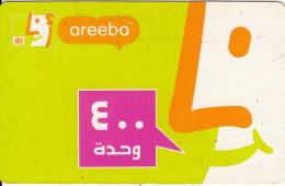 AFGHANISTAN - Areeba Prepaid Card, Used - Afghanistan