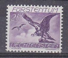 Liechtenstein 1939 Flugpost 2Fr Geier ** Mnh (27257) - Air Post