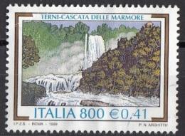 2535 Italia 1999 Turismo XXVI Emiss. : Terni - Cascate Delle Marmore Viaggiato Used - Altri