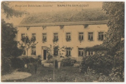 Haneffe - Remicourt. Propriété Dobbelaecce-Jamotte. Rare. - Remicourt