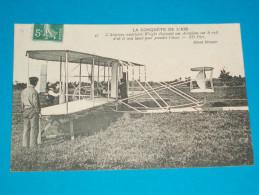 """72 ) Camp D´auvours """" Le Mans """" N° 43 - 10 Octobre 1908 """" L´aviateur Américain WILBURG WRIGHT ( N°4 ) ) - Le Mans"""