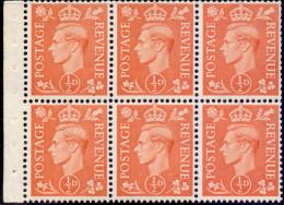 Great Britain 1951 King George VI 503d Pane - 1902-1951 (Re)