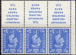 Great Britain 1952 King George VI 504dw Wmk Inverted - 1902-1951 (Re)