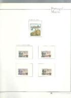 MACAO Trés Belle Collection 1981/1992 Tous ** En Album  Des Postes Avec Reliure - Macao