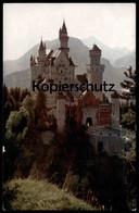 ALTE POSTKARTE KGL. SCHLOSS NEUSCHWANSTEIN König Ludwig II. Ansichtskarte AK Cpa Postcard - Familias Reales