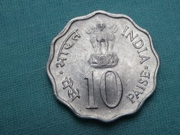 INDE 10 PAISE 1975 BOMBAY  F A  O  -  KM 29 - India