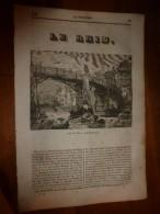 1835 LM :Le Rhin à Lauffenbourg (et Gravure);Girardon;Tombeau De Richelieu;Les Turcs Et Les Animaux;La Frégate (oiseau) - Livres, BD, Revues
