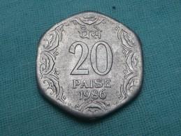 INDE 20 PAISE 1986 BOMBAY  -  KM 44 - Inde