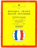 Programme Football 1964 Belgium V France UEFA - Books