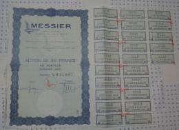 Messier, Aeronautique A Paris - Aviation