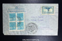 Graf Zeppelin 8. Sudamerikafahrt Sieger 275 A   Cover   Recife  To Liverpool - Luftpost