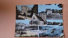 94.- ST MAUR -des- FOSSES.Gare, Tour Rabelais, Lycée, Barrage, Canoe - Saint Maur Des Fosses