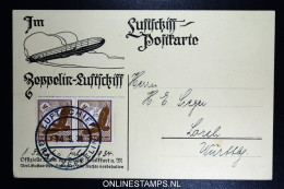 Graf Zeppelin Werkstättenfahrten 1934, Bordpost Sieger 02465I  Dd 14-5-1934 - Luftpost