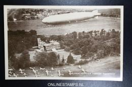 Zeppelin 5 Picture Postcards, Unused - Posta Aerea