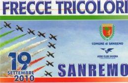 SANREMO (IM ) - 2010 -Manifestazione Aerea Sanremo AIR SHOW - - 1946-....: Era Moderna