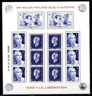 2/  Bloc Spécial Libération 1945  Salon Automne Paris 2015  épuisé Depuis - Mint/Hinged
