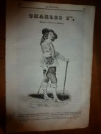 1835 LM : Great-Britain --->Charles 1er (Stuarts); Saint-Denis (texte Et Gravure);Deuil Pour Une Impératrice De Chine - Livres, BD, Revues