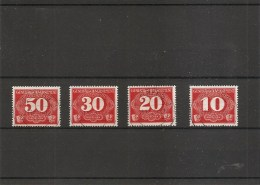 Gouvernement Général ( Taxes 1/4 Oblitérés) - Gouvernement Général