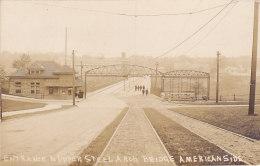 Entrance To Upper Steel Arch Bridge, American Side (animation) - Chutes Du Niagara